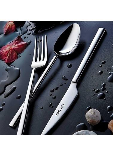 Sıla Çelik Exlusive Elit 60 Prç. Çatal Kaşık Takımı Seti 60 Prç. Renkli